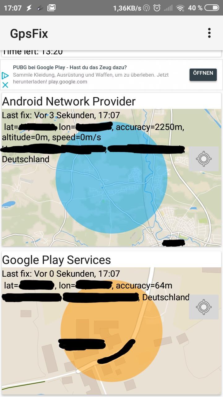 Resolved - Redmi 4X / santoni: Bad Network Location and no