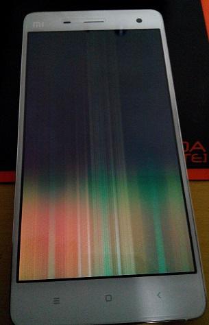 Mi4 screen rainbow issue | Xiaomi European Community