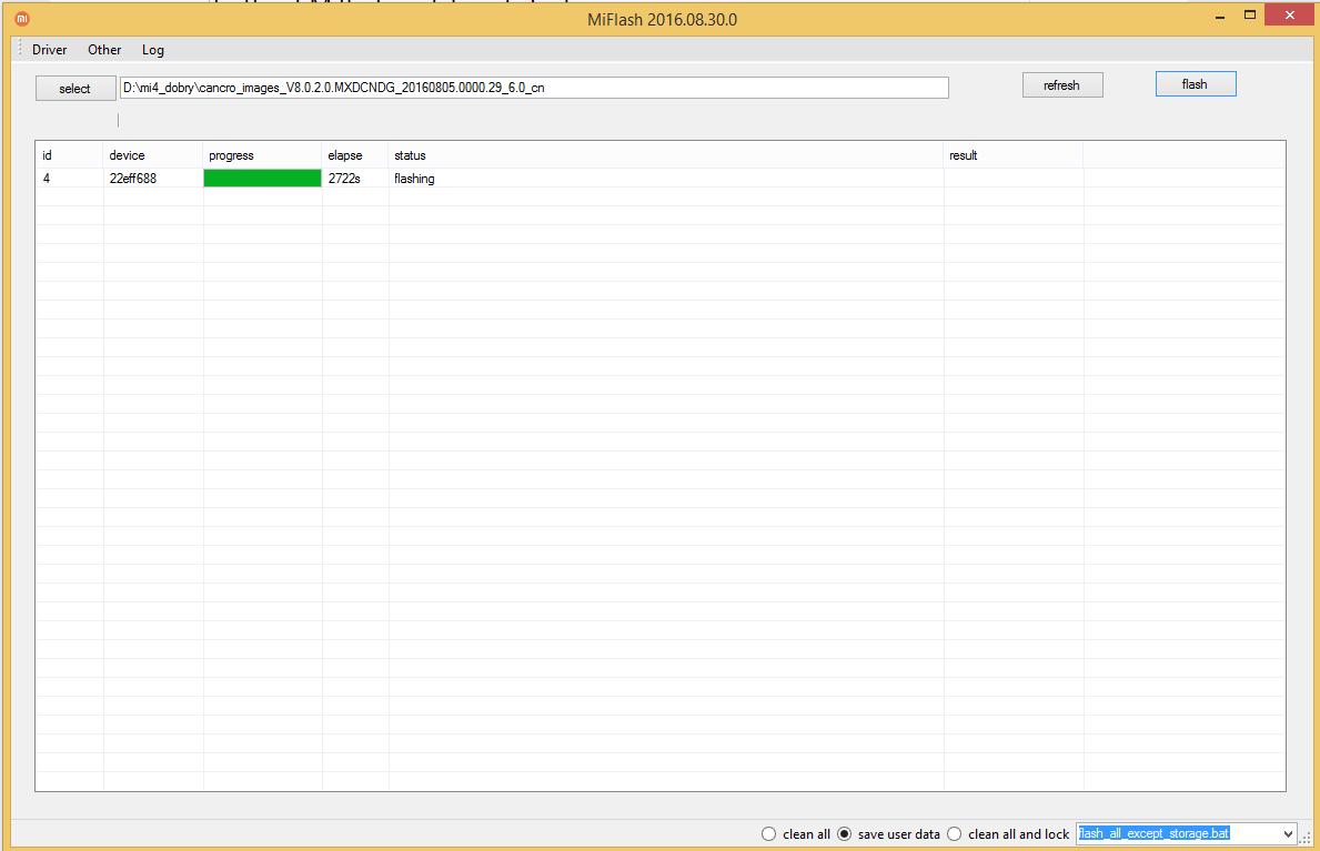 Fastboot Miflash Update Got Stuck | Xiaomi European Community