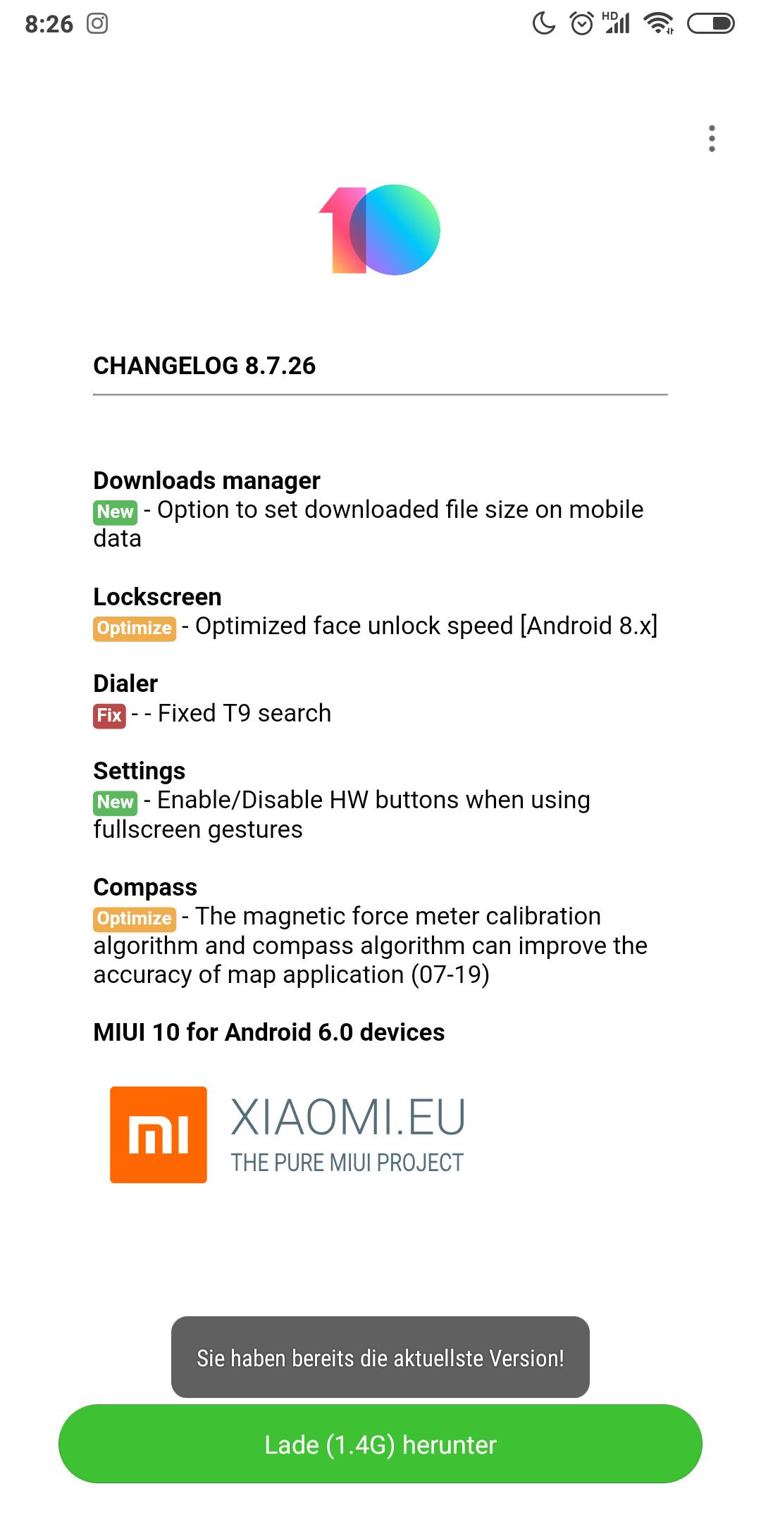 MIUI 10 - 8 7 26 | Xiaomi European Community