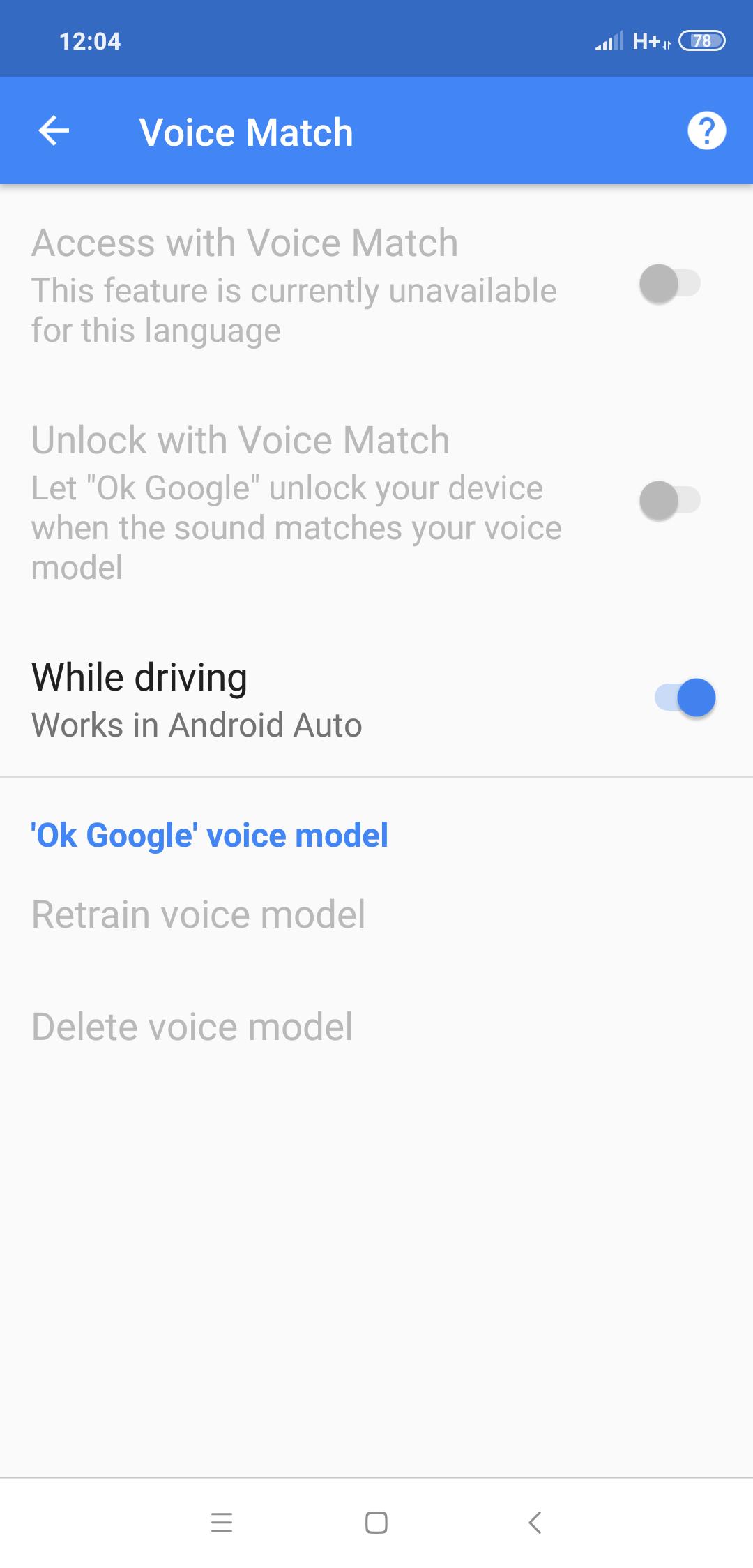 Resolved - MI 8 - Ok google feature not working   Xiaomi