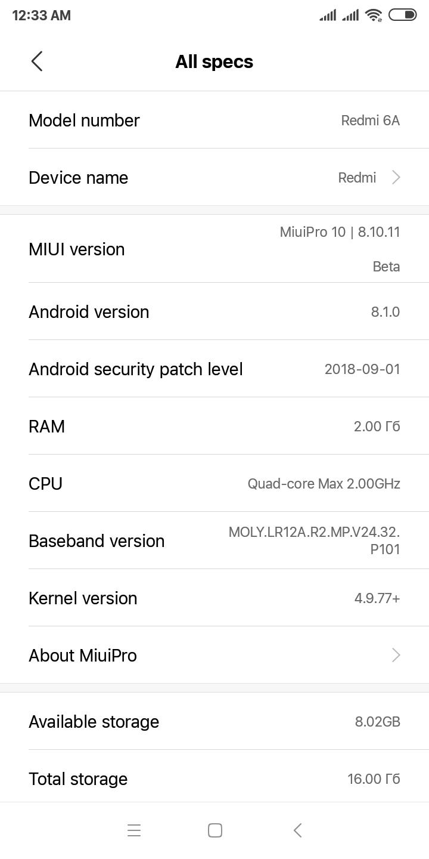 Redmi 6A TWRP (cactus)   Xiaomi European Community