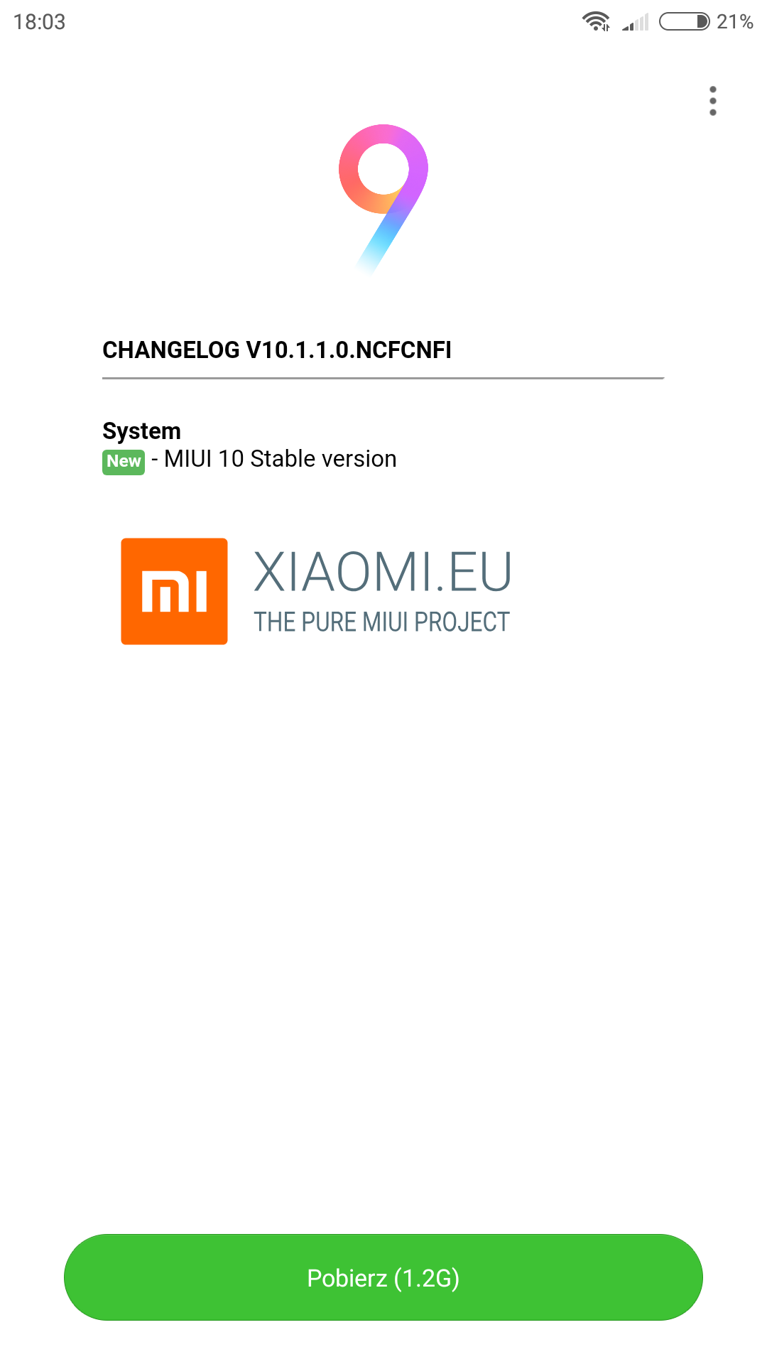 Redmi Note 4x with MIUI 9 can't upgrade to MIUI 10 | Xiaomi