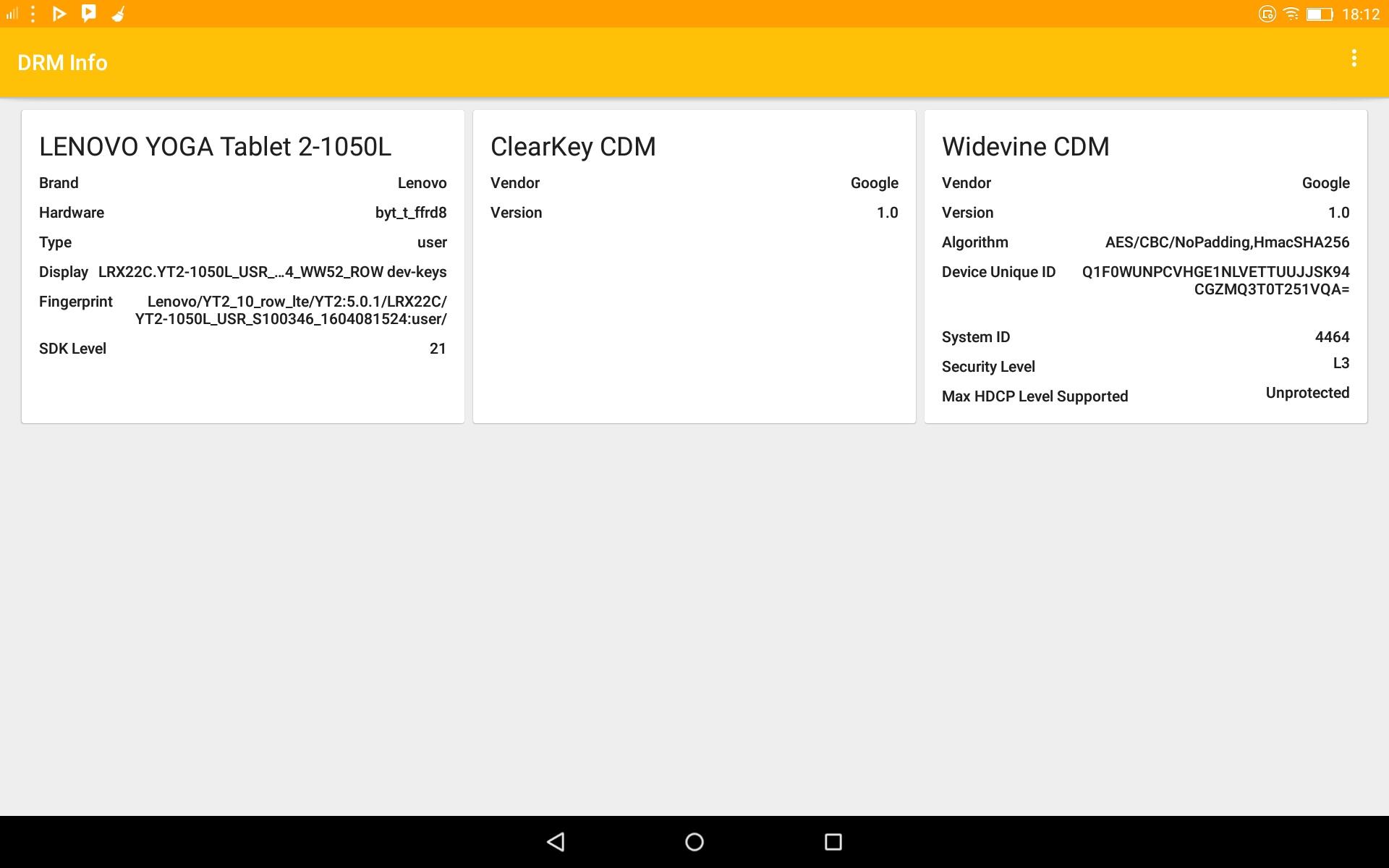 Google Widevine Modular DRM - Mi Pad 4 Plus | Xiaomi European Community