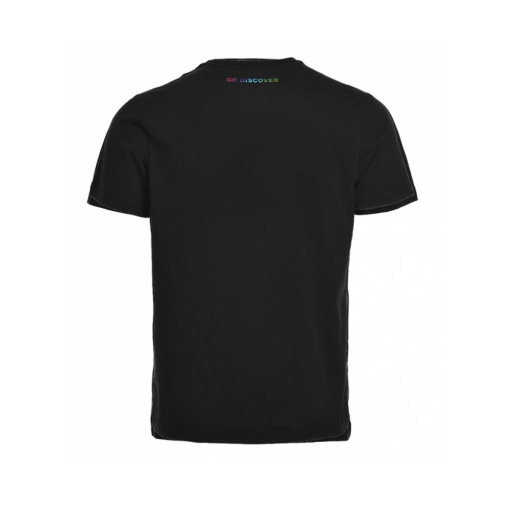 Black t shirt round neck -  Xiaomi Mix Go Discover Round Neck Short Sleeved Black T Shirt 6